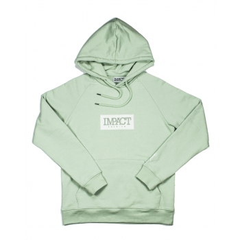 """IMPACT HOODIE """"GREEN LILY"""""""