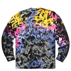 CHINATOWN MARKET : TYE DYE LONG SLEEVE TEE