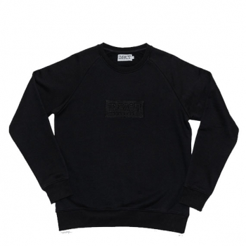 "IMPACT : BOX LOGO CREWNECK ""BLACK"""