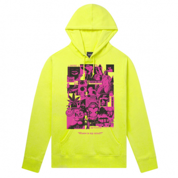 HUF : WHERE IS MY MIND HOODIE