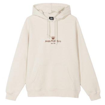 STÜSSY : OLD ENGLISH HOODIE