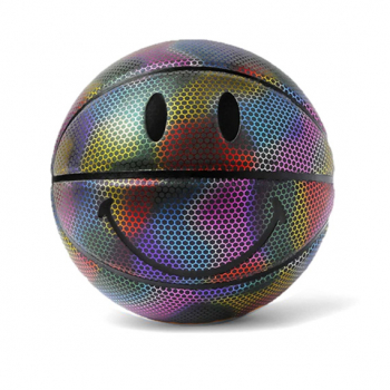 CHINATOWN MARKET : SMILEY BASKETBALL REFLECTIVE