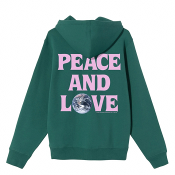STÜSSY : PEACE & LOVE HOOD
