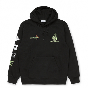CARHARTT W.I.P : HOODED CARHARTT RACE PLAY SWEATSHIRT